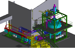 3D Model Piping